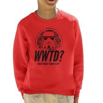 Original Stormtrooper What Would Trooper Do Kid's Sweatshirt