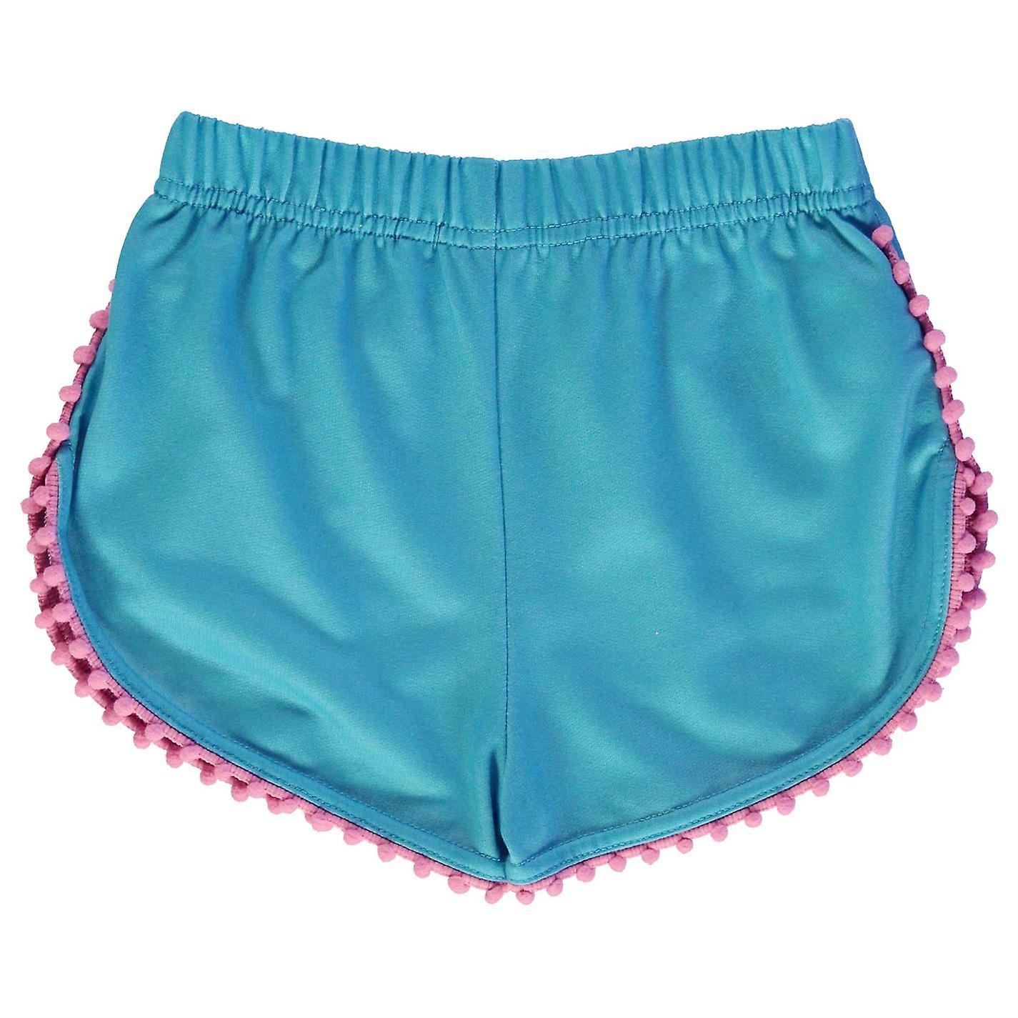 Character Kids Shorts Pants Trousers Bottoms Infant Girls Elastic Print