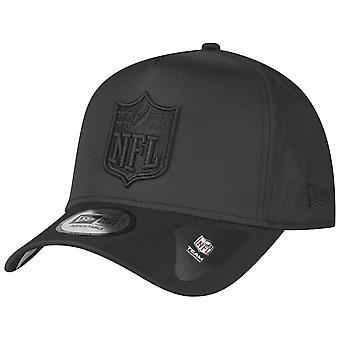 新しい時代の合掌造りリップ ストップ トラック運転手キャップ - NFL ロゴ シールド