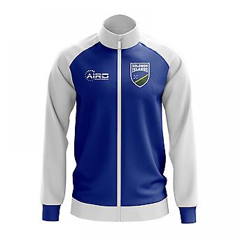 Solomon Islands Concept Football Track Jacket (Blue)