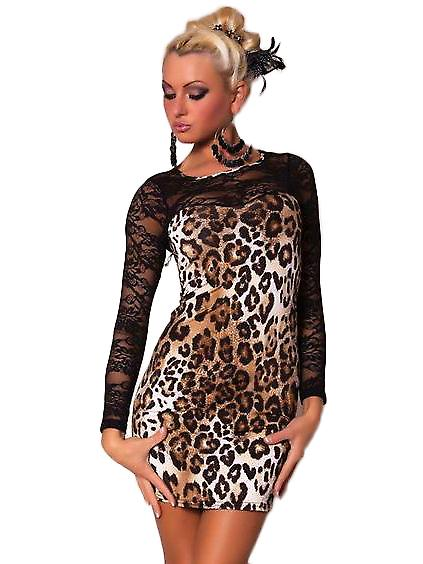 Waooh 69 - Short Dress Sexy Leopard Ophély