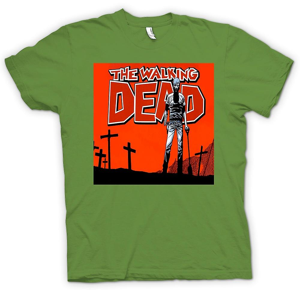 Herr T-shirt-Zombie The Walking Dead - skräck
