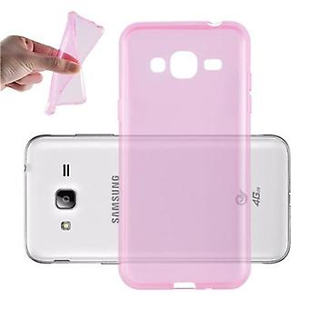 Cadorabo Case for Samsung Galaxy J3 2016 Case Cover - Mobile Phone Case made of flexible TPU silicone - Silicone Case Protective Case Ultra Slim Soft Back Cover Case Bumper