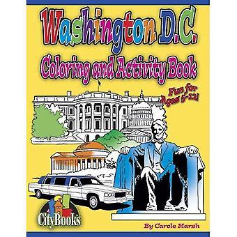 Washington DC Coloring & Activity Book