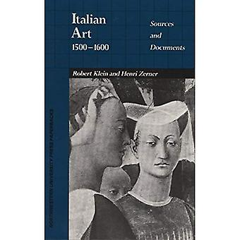 Italian Art, 1500-1600: Sources and Documents