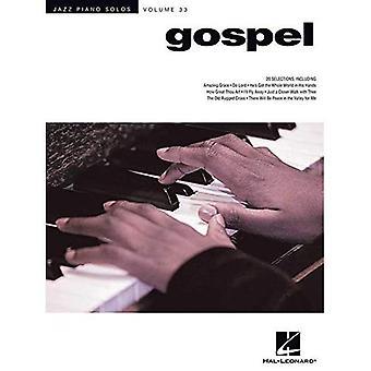 Jazz Piano Solo Series: Volume 33: Gospel