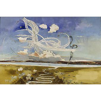 The Battle of Britain,Paul Nash,60x40cm