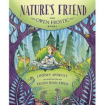 Un ami de la nature: l'histoire Frostic Gwen