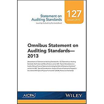 Statement on Auditing Standards, Number 127: Omnibus Statement on Auditing Standards