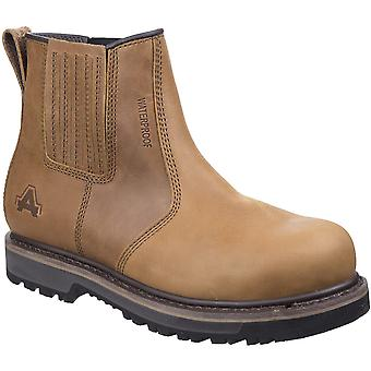 Amblers Mens AS232 Goodyear Welted Breathable Safety Boots