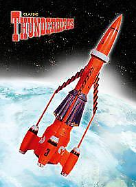 Thunderbird 3 steel fridge magnet    (sd)