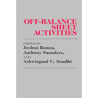 OffBalance Sheet Activities by Saunders & Anthony C.