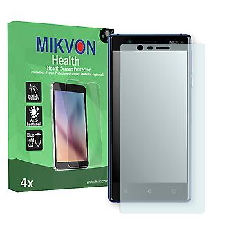 Nokia 3 Screen Protector - Mikvon Health (Retail Package with accessories) (reduced foil)