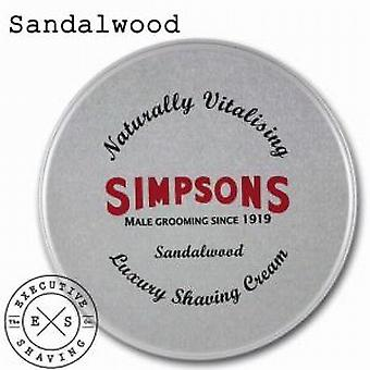Sandalo di Simpsons lusso crema da barba (125ml)