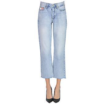 Tommy Hilfiger Light Blue Cotton Jeans