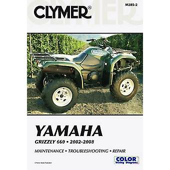Clymer Yamaha Grizzly 660 2002-2008 (2nd Revised edition) by Jay Boga