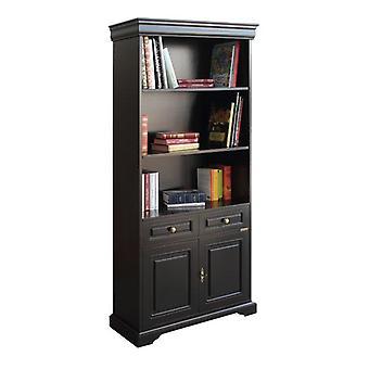 Bookcase Black Luigi Filippo lacquered