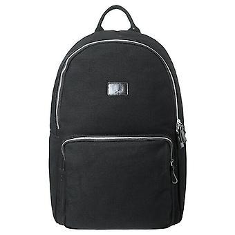 Torba plecak na ciężki płótno Fred Perry-L3217-102-czarny