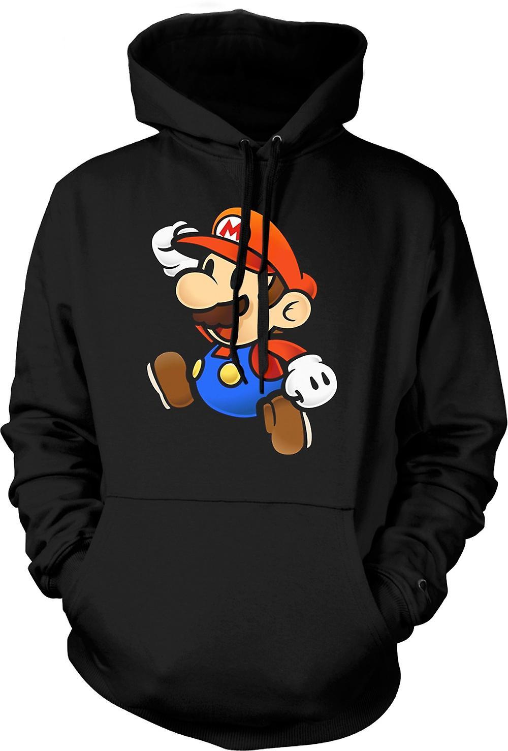 Mens Hoodie - Super Mario - Gamer