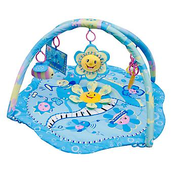 LaDiDa Babygym Blaue Blume Party