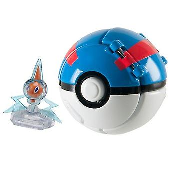 Pokemon Throw 'n' Pop Sableye + Poke Ball #t19129