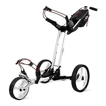 Sun Mountain Pathfinder 3 hjul push Golf trolley Cart hvid
