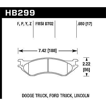 Hawk performance HB299Y. 650 LTS
