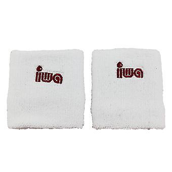 IWA Schweissband-Paar für Turnriemchen, 8cm, weiss