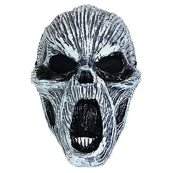 Bristol Novelty Unisex Adults Ghost Glow In Dark Mask