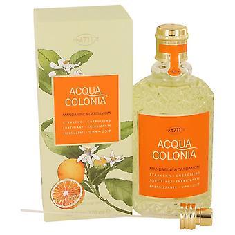 4711 Acqua Colonia Mandarine & Cardamom Eau De Cologne Spray (Unisex) By Maurer & Wirtz 169 ml