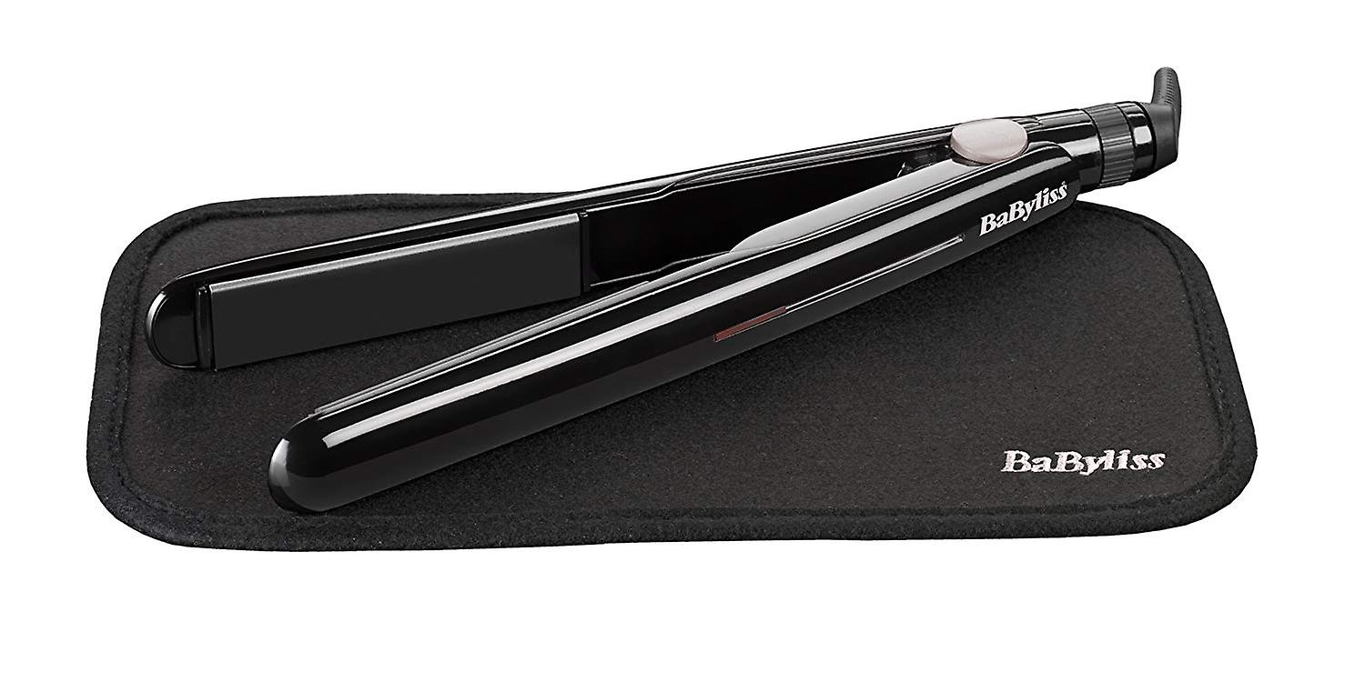 BaByliss 2069U Hair Straightener Ceramic Plate Fast Heat Up Iron With Heat Mat