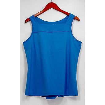Iedereen Sleepshirt verplaatsen stretch Jersey Tank Top plank blauw A306092