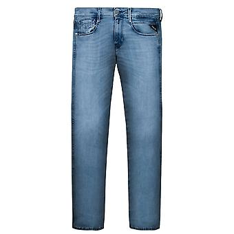 Replay Hyperflex Clouds Jeans Light Blue