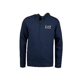 Ea7 Core Full Zip Hoody