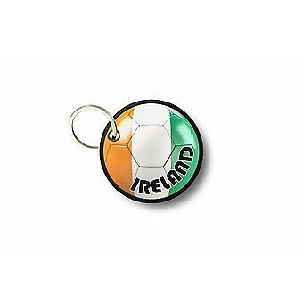 Porte Cle Cles Clef Brode Patch Ecusson Drapeau Ballon Foot Irlande