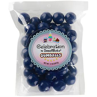 Gumballs Stand-Up Bag 14oz-Navy Blue SCGUM14-05403