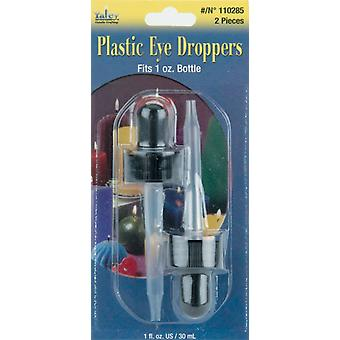 Plastic Eye Droppers 2 Pkg 110285