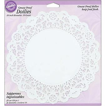 Grease Proof Doilies 10