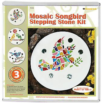 Mosaic Stepping Stone Kit Songbird K1250