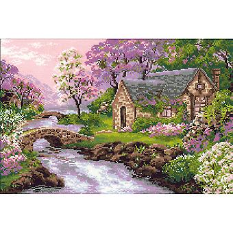 Spring View Counted Cross Stitch Kit 15