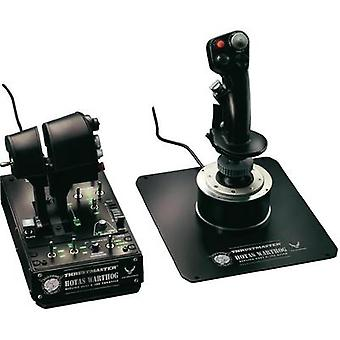 Flight sim joystick Thrustmaster Hotas Warthog USB PC