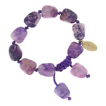 Lola Rose Tess Bracelet Violet Water Lilly Serpentine