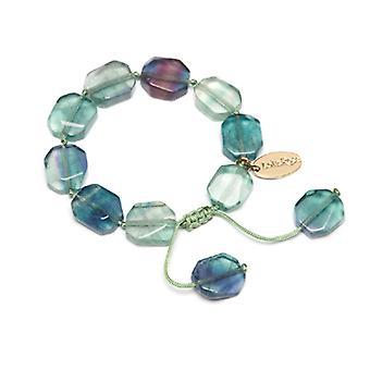 Lola Rose Neva Bracelet émeraude vert Fluorite