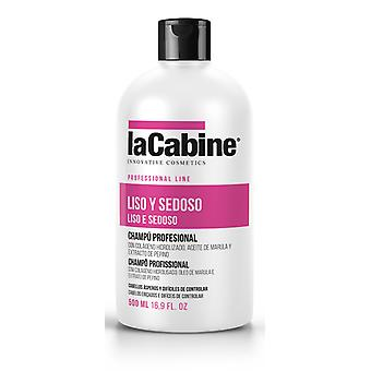 La Cabine Smooth and silky Shampoo 500 Ml (Woman , Hair Care , Shampoos)