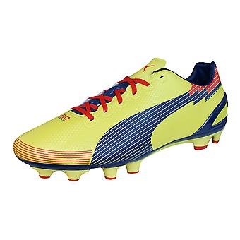 Puma evoSPEED 3 Graphic FG Mens Football Boots / Cleats - Yellow