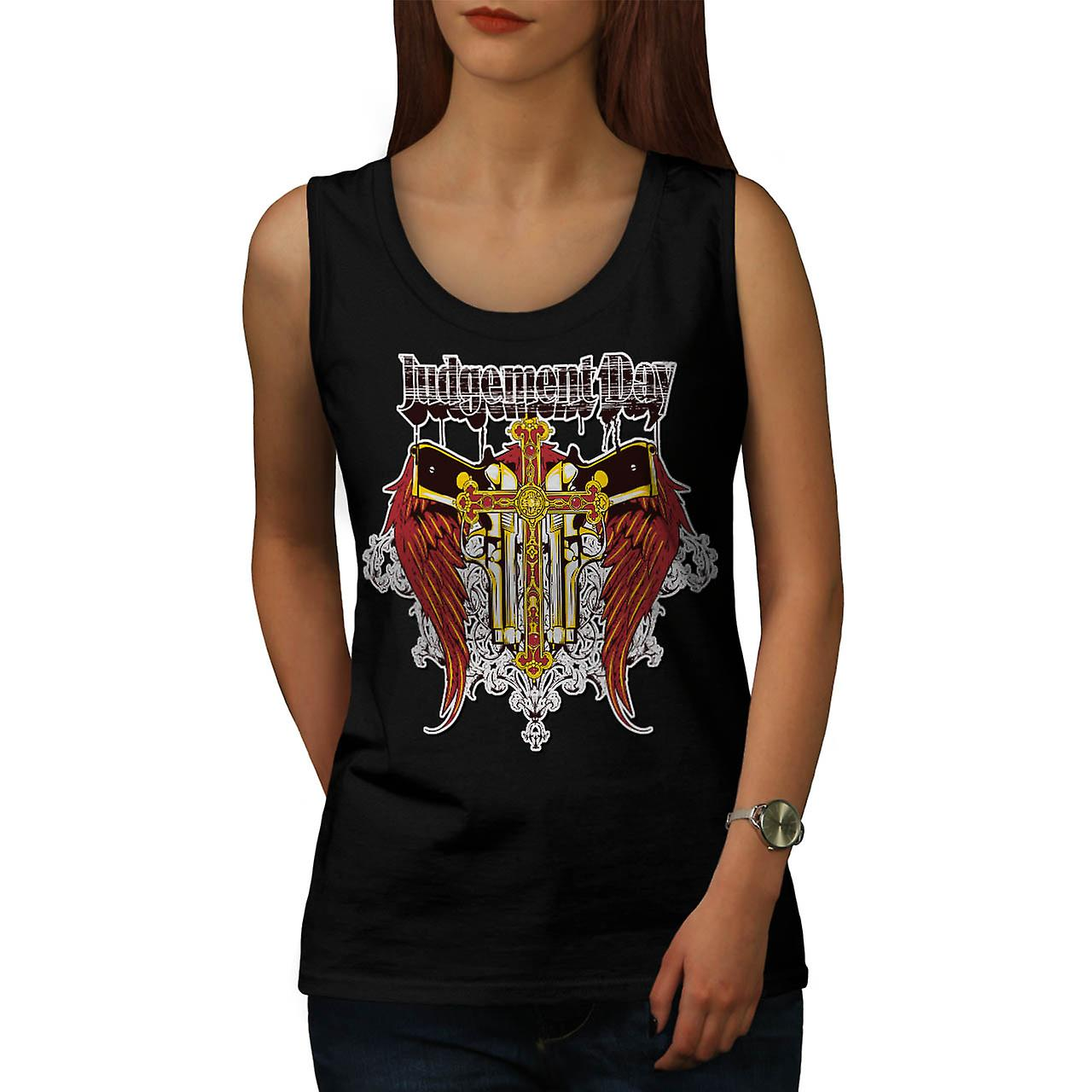 Judgement Day Fashion Women Black Tank Top | Wellcoda