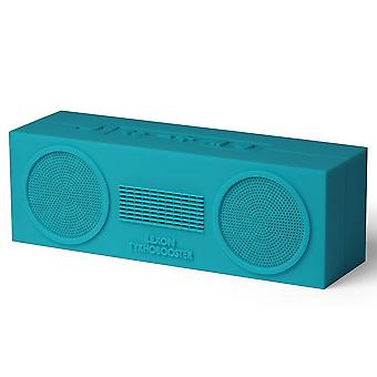Prussian Blue Lexon Tykho Booster Bluetooth Speaker