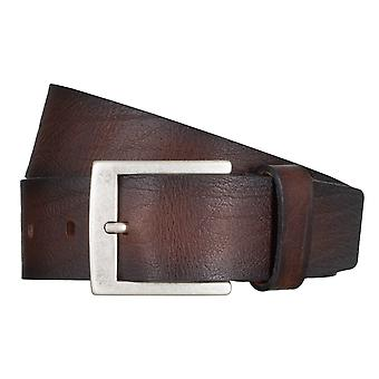 SAKLANI & FRIESE belts men's belts leather belt Brown 5026