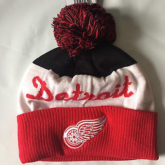 Reebok NHL Cuff Pom Winter Hat Detroit Red Wings