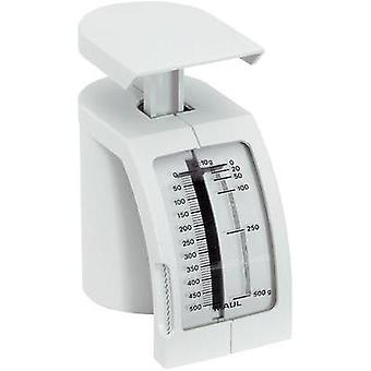 Spring scale Maul Feder-Briefwaage Weight range 500 g Readability 10 g White